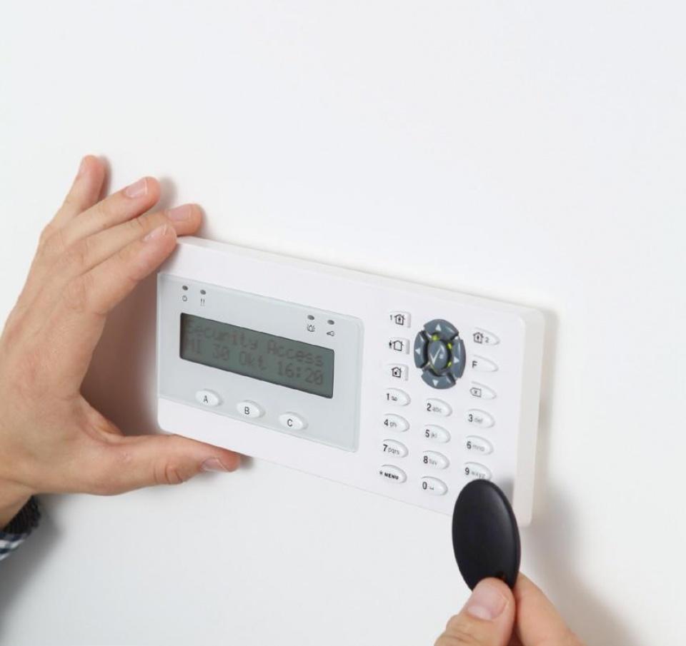 Code paneel alarmsysteem - alert Systems BV