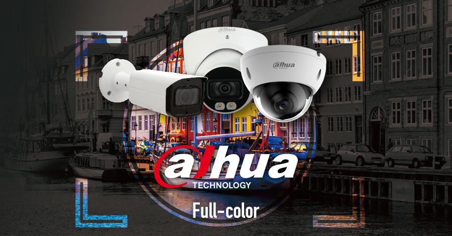 Dahua Full Color camerabeveiliging Full HD voor zeer mooie beelden